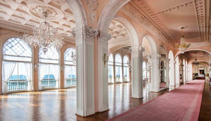 luxurious palace. Internal.